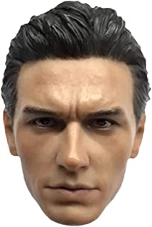HiPlay 1/6 Scale Male Figure Head Sculpt, Handsome Men Tough Guy , Doll Head for 12