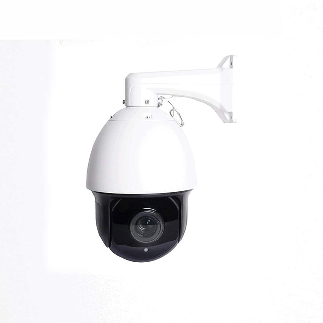 ランタンメダリストダメージJPAKIOS 防水PTZのカメラのモニターのカメラ屋外のスマートボールの赤外線高速 (色 : ホワイト)