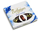 Chocolates Giftbox Belgian Seashells Blue Ribbon - Importado da Bélgica