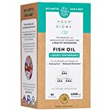 Aqua Biome by Enzymedica, Fish Oil + Sports Performance, Complete Omega 3 Supplement, Non-GMO, 60 Softgels (30 Servings)