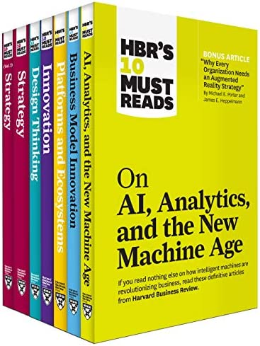 HBR s 10 Must Reads on Technology and Strategy Collection 7 Books product image