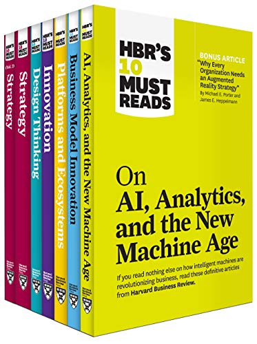 Compare Textbook Prices for HBR's 10 Must Reads on Technology and Strategy Collection 7 Books  ISBN 9781647820282 by Review, Harvard Business,Porter, Michael E.,Christensen, Clayton M.,McGrath, Rita Gunther,Davenport, Thomas H.