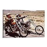 Jishen Leinwandbild, Motiv: Easy Rider Bikers, dekoratives
