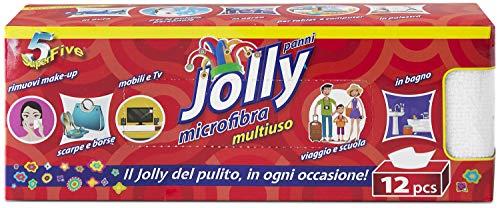 Orlandi Panno Jolly Multiuso in Microfibra 12pz, SUPERFIVE