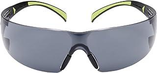 3M SF400 GC1 Lunettes de protection confortables avec revêtement anti-rayures et protection UV des deux côtés, anti-rayure...