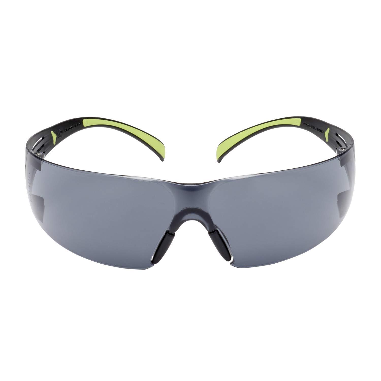3M SF400 GC1 - Gafas de protección para el trabajo con revestimiento antiarañazos, protección UV, antiarañazos y antivaho