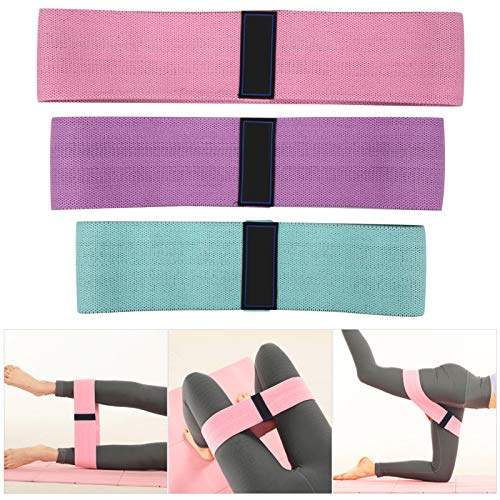 Jingyig Cinturón elástico, Correa de látex para la Cadera, Gimnasio elástico para Entrenamiento físico para piernas en Cuclillas Profundas