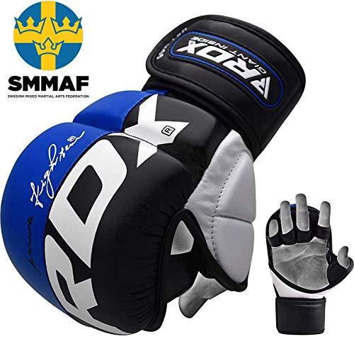 RDX Herren Gel  MMA UFC Handschuhe Kampfsport Sandsackhandschuhe Sparring Grappling Trainingshandschuhe Abbildung 2