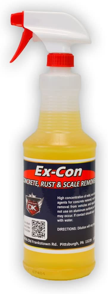 Detail King Ex Con Concrete Bargain sale Sap Rust Cleaner Remover Tree Today's only