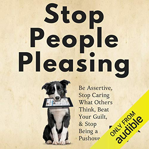 Stop People Pleasing audiobook cover art