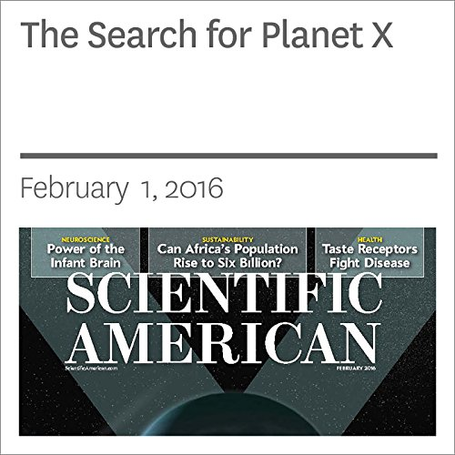 The Search for Planet X audiobook cover art