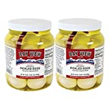 Red Hot Gourmet Pickled Eggs - 2 jars...