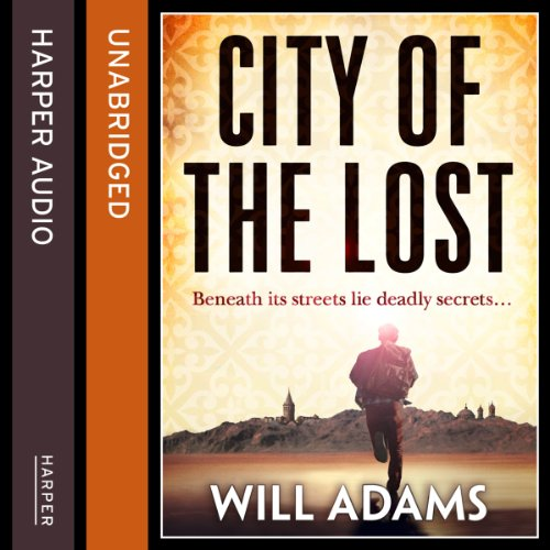 City of the Lost audiobook cover art