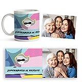 Fotoprix Taza Super Abuela Personalizada con Foto y Texto | Regalo Original Madre y Abuela | Varios diseños Disponibles...