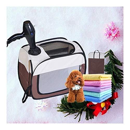 Pantalla de calefacción por mascotas Mascota secadora, secador de pelo, caja de soplado Dogpet secado Secador de pelo del gato Dryebathing Artefacto, Mute automático de peluche del gato Secador de pel