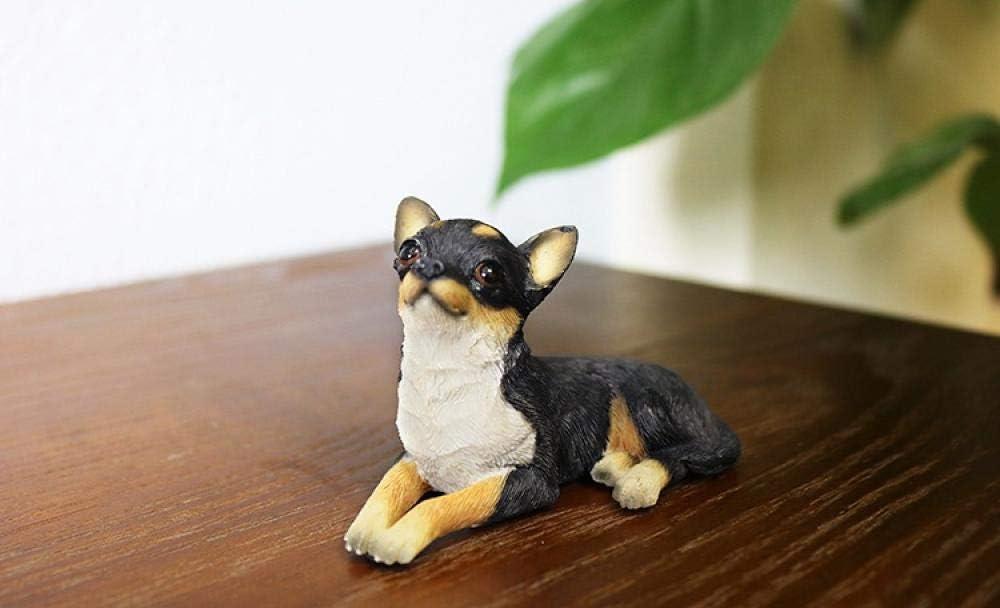 XGPK Statues for Garden Shih Tzu Simulation Animal Model car Crafts Dog Ornaments Home Accessories