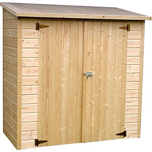 Decor et Jardin Box Sistemazione Legno Albecove 12 mm 182x91xh183 cm 4 Pareti