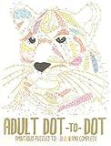 infactory Bücher: Malbuch für Erwachsene Dot-to-Dot, 32 Punkt-Motive über 500 Punkte (Kreativ-Malbuch)