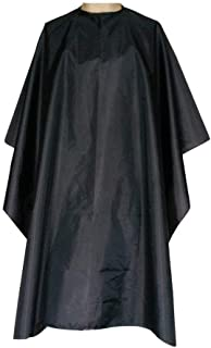 Barber Cape Salon Hairdressing Apron Durable Waterproof Hair Cutting Gown Barber Cape Cloth Unisex Gown Hairdressing Robe Black