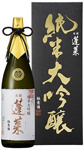 蓬莱 純米大吟醸極意傳 [ 日本酒 1800ML ]