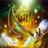 UHvEZ 500 Piezas El Rompecabezas de Madera Fantasy Ark hutchjigsaw Puzzle Juguetes educativos para niños Adultos_Rompecabezas Educativo de Regalo para niños_50X75CM