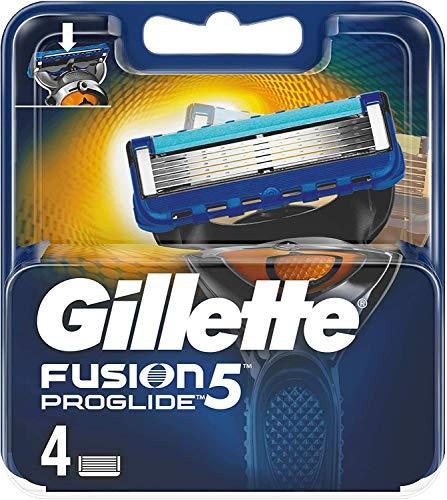 Gillette Fusion 5 Rasierklingen mit Trimmerklinge für Präzision und Gleitbeschichtung, 4 Ersatzklingen