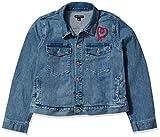 J.Crew Mercantile Women's Cropped Embroidered Denim Jacket, Vintage Light Tide Blue Wash, S