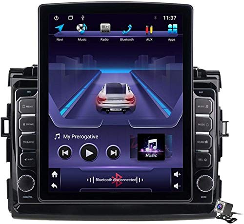 Android 9.1 Pantalla Vertical de 9,7 Pulgadas GPS Navegador Coche para Toyota Previa Estima Tarago 2006-2012 - FM Radio del Coche, Conexión a Internet, Soporte DSP/Llamadas Manos Libres