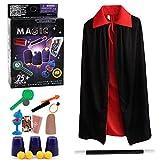 Harxin Juego de Magia,Magic Show,Trucos Magia Set Infantil Magos Caja Creativo Aprendizaje para Niños (Juegos de Magia)