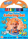 Blippi: Carry-Along Coloring Set