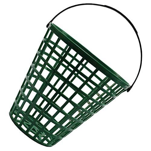 Kohyum Golf Korb, Korb Golfball, Golfball Eimer, Behälter Übung Behälter mit Griff - Halter 50/100 Bälle, Aufbewahrungsbehälter Zuhause Wäschesammler Wäschekorb