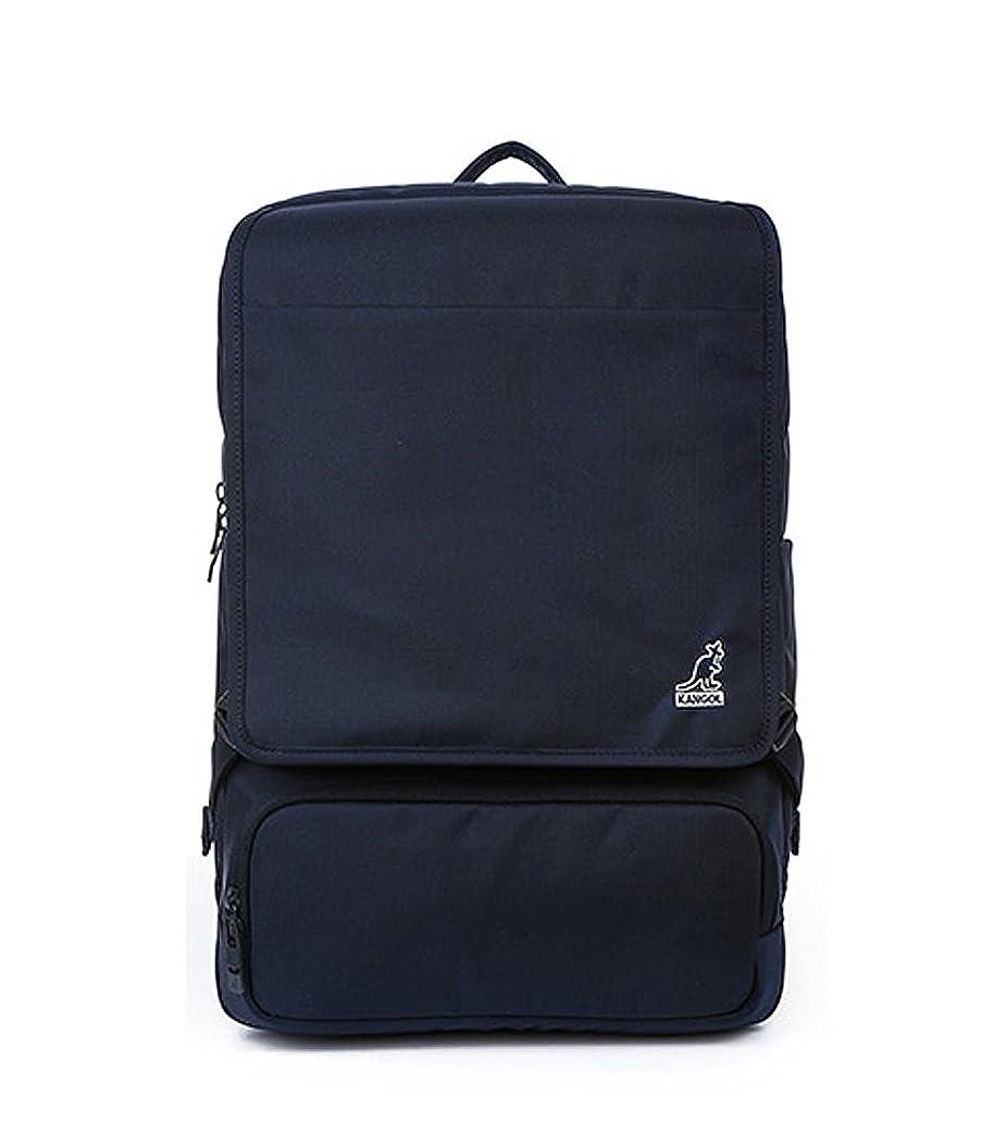 予算保安雄大な【カンゴール】 KANGOL Mike Backpack 1126_Navy 【並行輸入品】 HOIPOY