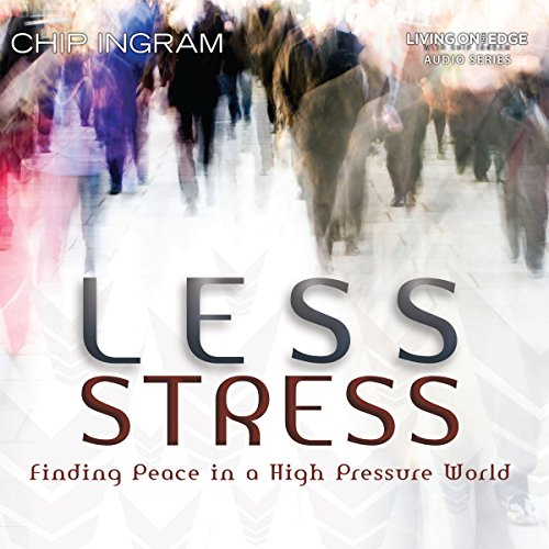 Less Stress audiobook cover art