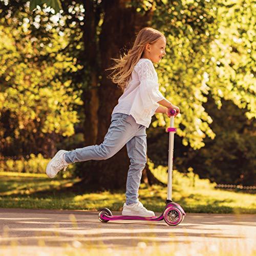 Globber Evo Confort Trottinette évolutive Mixte Enfant, Rose, Taille Unique