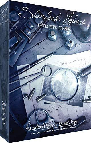 Asmodee- Sherlock Holmes DC : Carlton House & Queen's Park, SCSHCQ01FR, Jeu Coopératif