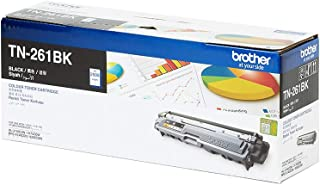 BROTHER Genuine TN-261BK Standard Yield Black Ink Printer Toner Cartridge