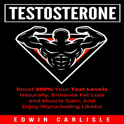 Testosterone audiobook cover art