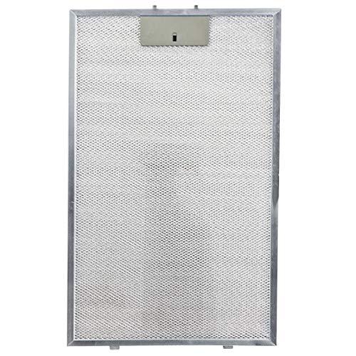 SPARES2GO Dunstabzugshaube aus Metallgitter, Fettfilter für Terzismo LAM2501 Backofen (460 x 260 mm)