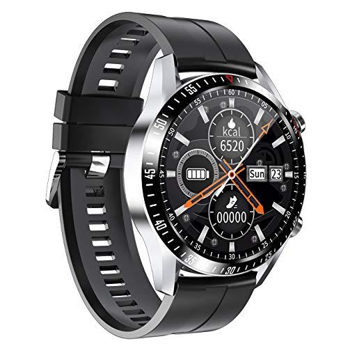 GELEI Smart Watch Fitness Tracker, SmartWatch Bluetooth Resistente al Agua con notificación de Mensajes Reloj Deportivo al Aire Libre para Mujeres y Hombres