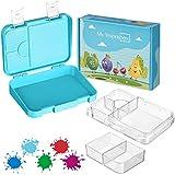 My Vesperbox – Bento Box Kinder - Lunchbox mit 4+2 Fächern - extrem robust und auslaufsicher –...