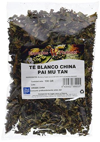 Especias Pedroza Té Blanco China Pai Mu Tan - 5 Paquetes de