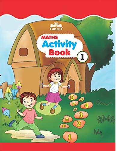 GIKSO Maths Activity Book – 1 for Kids Age 3-5 Years Old (English)