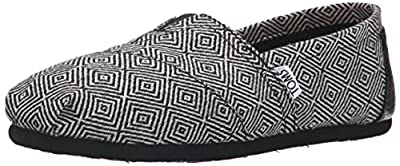 TOMS Women's Classic Printed Wool Ankle-High Wool Flat Shoe