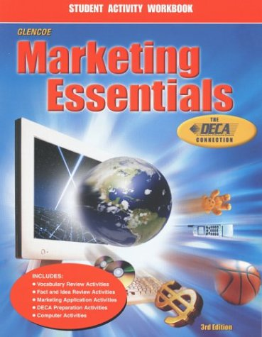 Marketing Essentials, Student Activity Workbook