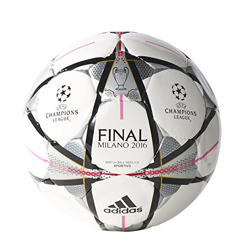 Adidas - Pallone Champions League Finale Milano 2016 Sportivo [Grandezza 5]