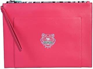 Luxury Fashion | Kenzo Mens FA55PM312L4527 Pink Pouch |