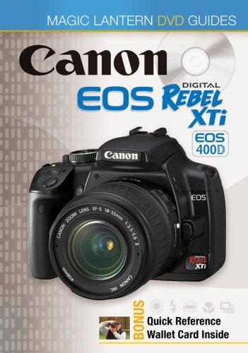 Price comparison product image Magic Lantern DVD Guides: Canon EOS Digital Rebel XTi EOS 400D