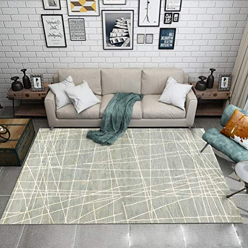 RUG LUYIASI- Nordic marmor Teppich für Wohnzimmer teppiche rutschfeste badroom große Teppich couchtisch Matte Schlafzimmer Yoga pad wohnkultur Non-Slip mat (Color : C, Size : 160x230cm)