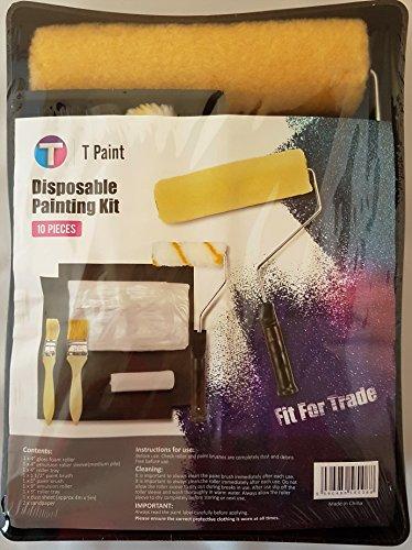 Kit de pintura de 10piezas desechable