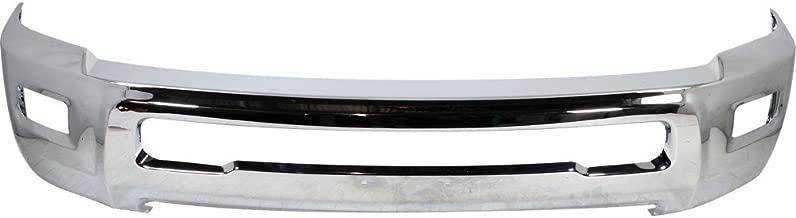 Front Bumper Chrome For 2010-2017 Dodge Ram 2500 3500 w/Foglamp